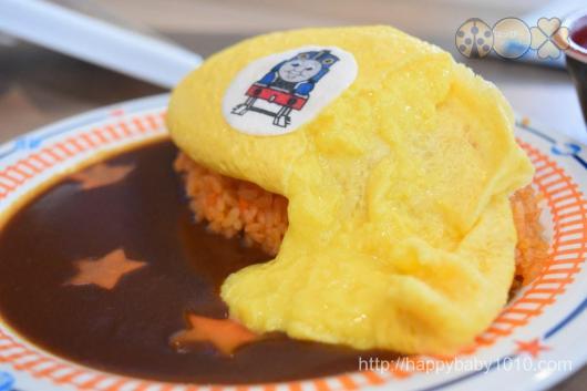 富士急ハイランド トーマスランド 無料 2歳児 レストラン お土産 オムライス トロトロ卵のオムライス 1000円