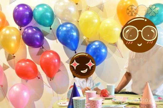 スタジオノハナ 子連れイベント 写真撮影 先着 会場内の様子2 パーティーブース