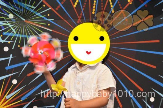 スタジオノハナ 子連れイベント 写真撮影 先着 会場内の様子2 花火ブース