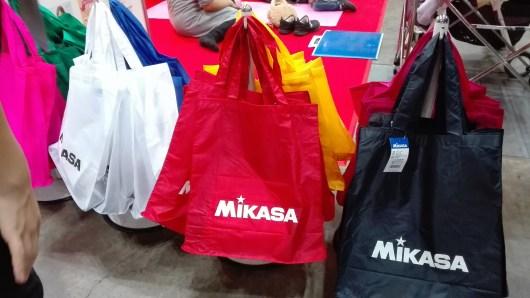 たまひよファミリーパーク お土産 MIKASA ミカサ 出展ブース