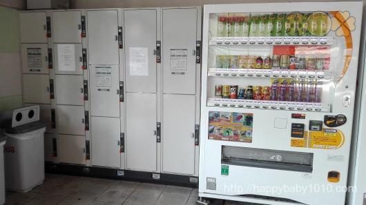 大井川鉄道 千頭駅 コインロッカー