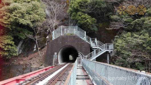 大井川鉄道 アプトライン 奥大井湖上駅 絶景ポイント4