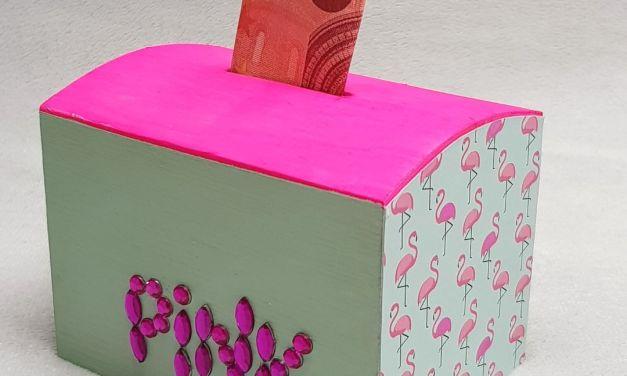 """DIY Spardose """"Flamingo"""""""