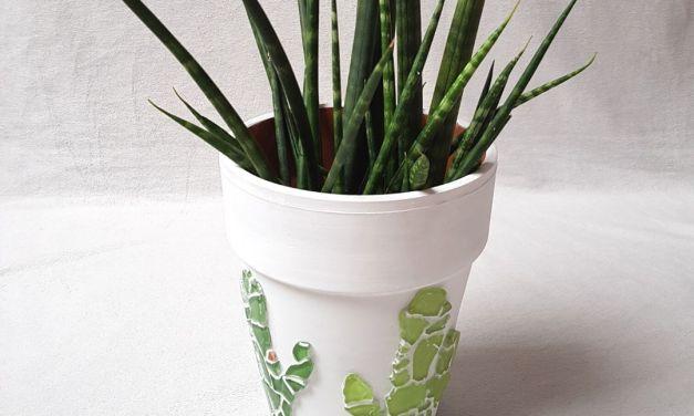"""DIY Blumentopf """"Kaktus"""""""
