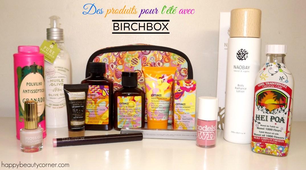 birchbox bon plan