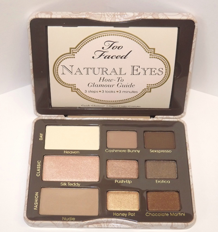 palette natural eyes