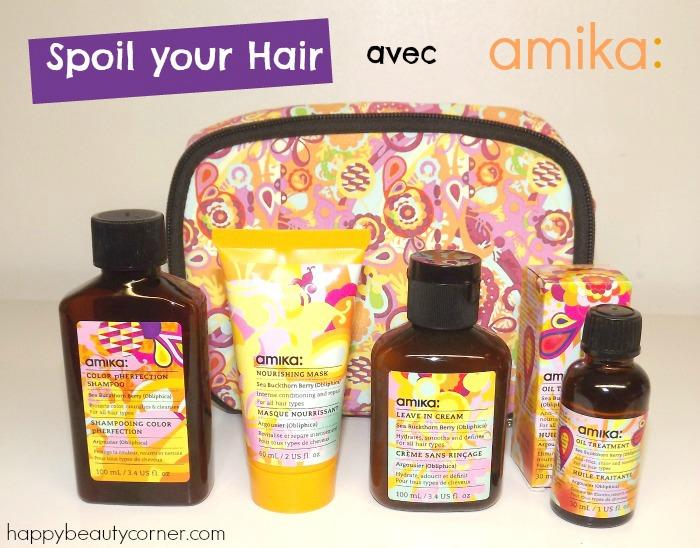 Spoil your Hair avec amika et Wishlist de Noël Birchbox