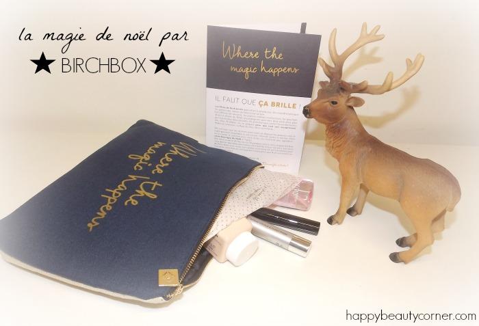 birchbox decembre