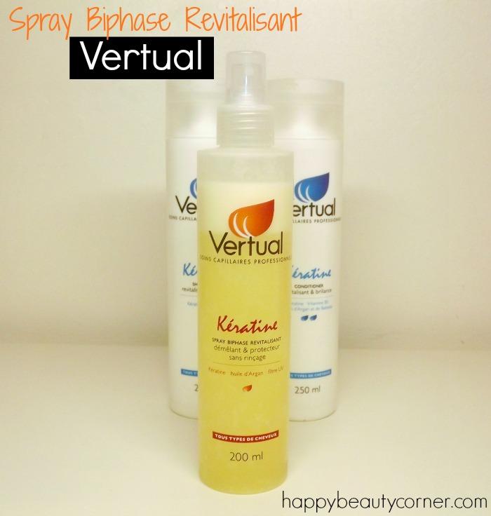 Le Spray biphase Vertual Kératine (cadeau pour vos cheveux inside)