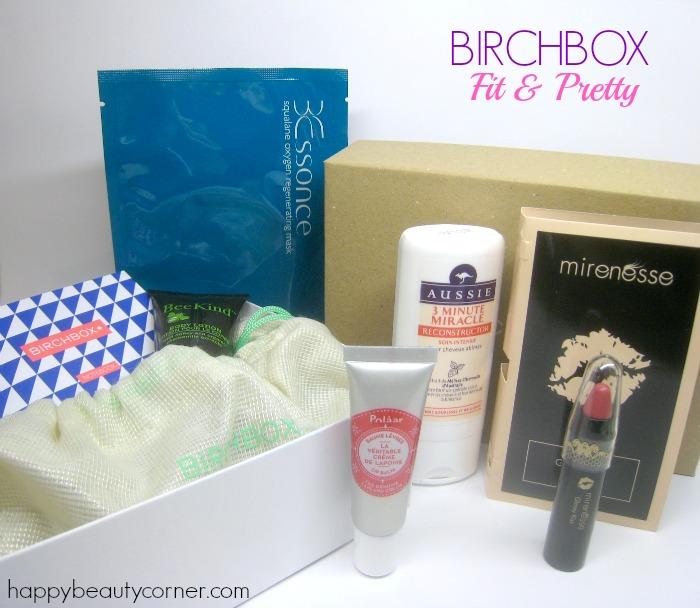 Fit & Pretty avec la Birchbox de Janvier 2015