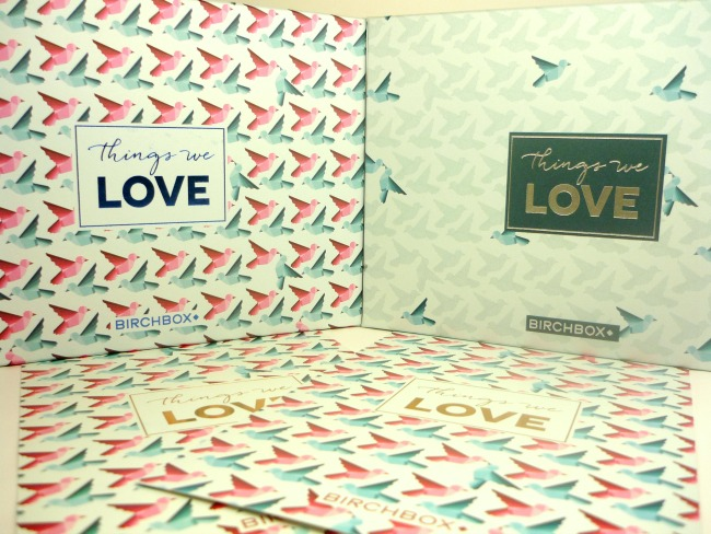 Double portion de Things we Love par Birchbox !