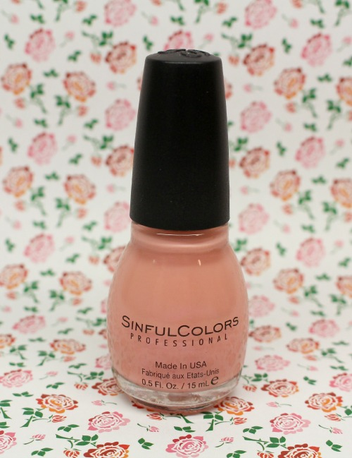 vernis nude rose sinful colors