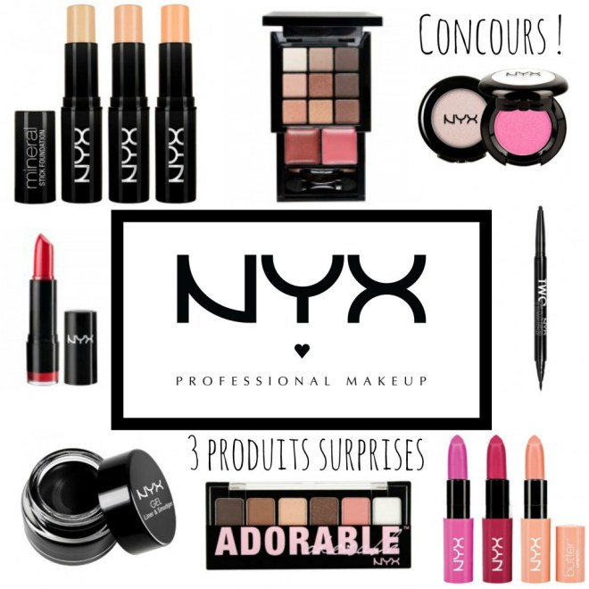concours nyx make up