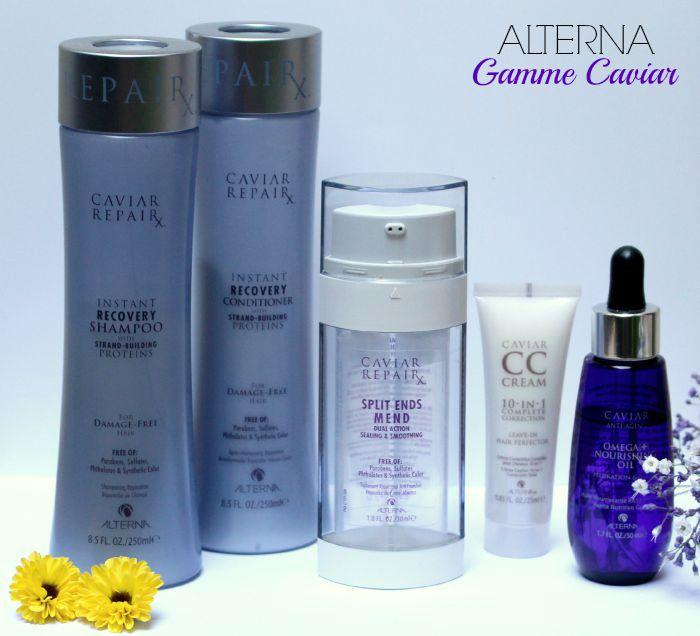 Du Luxe pour mes cheveux : Gamme Caviar d'Alterna Haircare