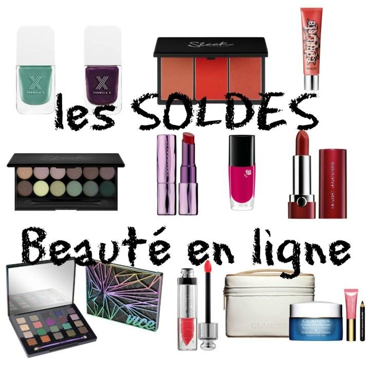 Les Soldes Beauté en ligne… et mes craquages ^^