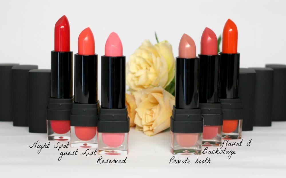 sleek vip lipstick