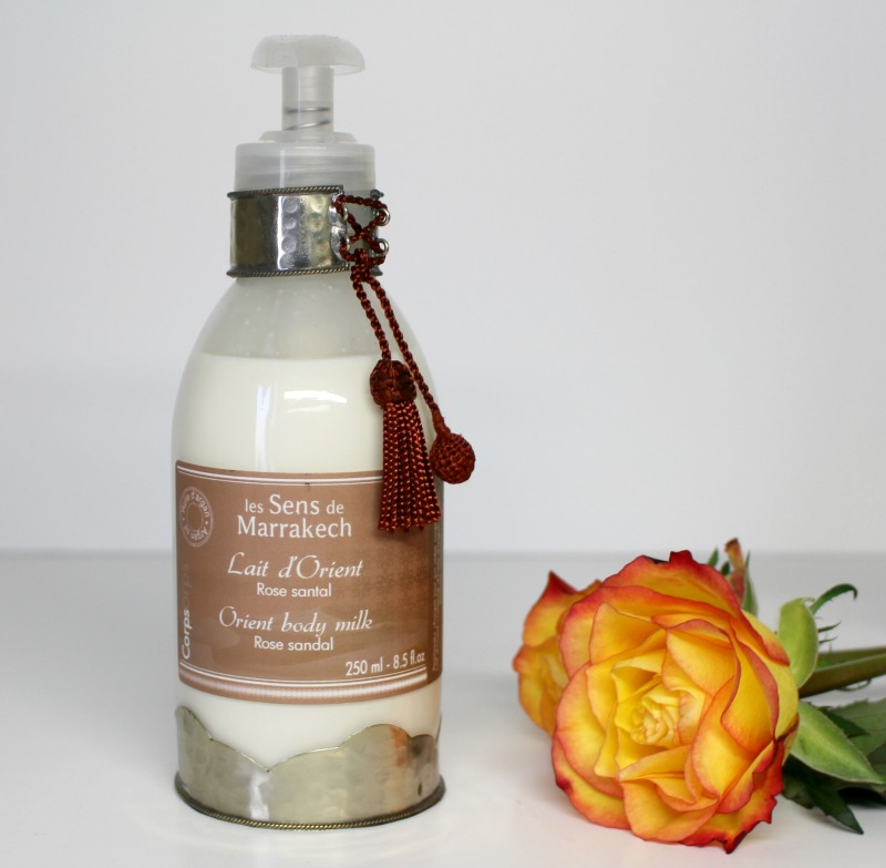 lait orient rose santal