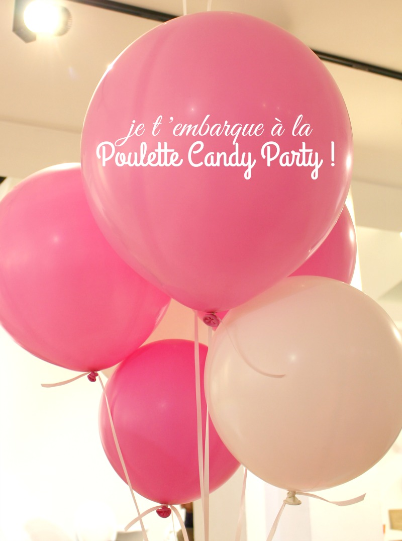 poulette party candy