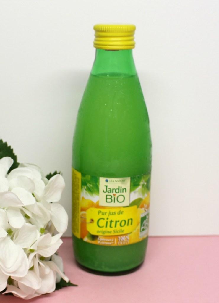 jus de citron jardin bio
