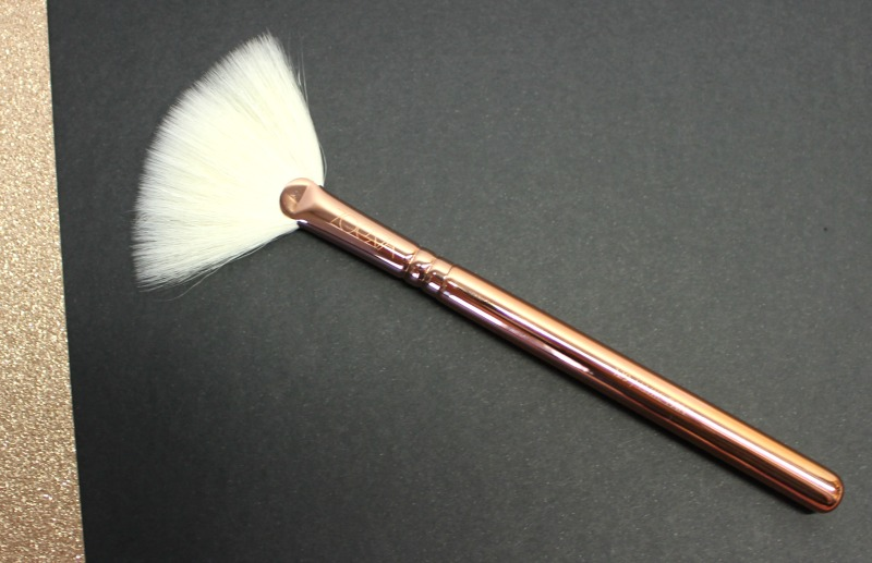 luxe fan brush