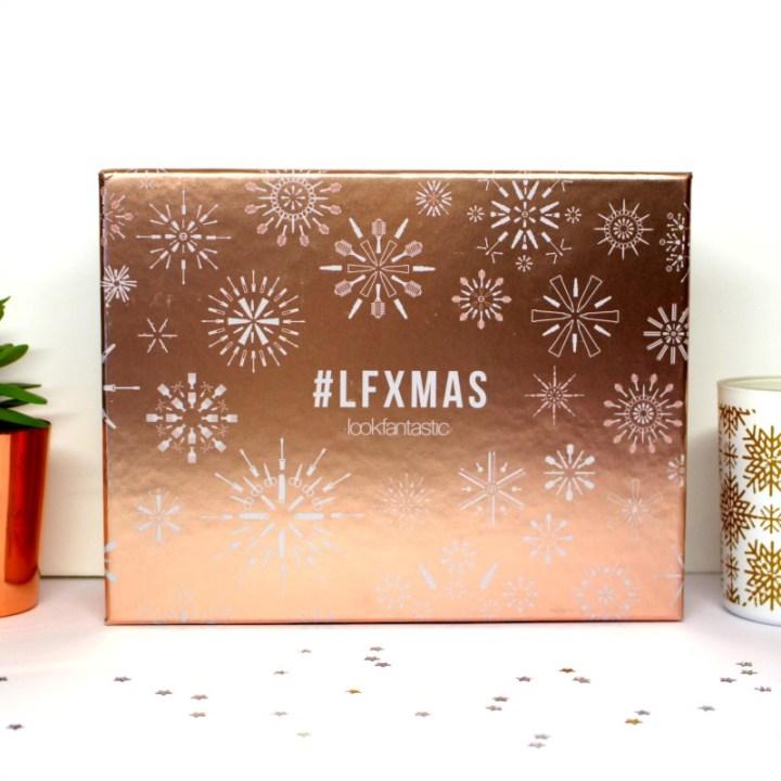 Look fantastic box de Noël LF Xmas !