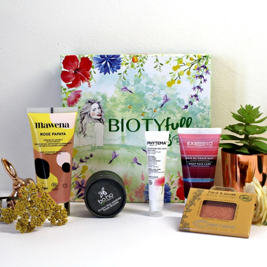 avis Biotyfull box Cosmébio d'Avril 2019