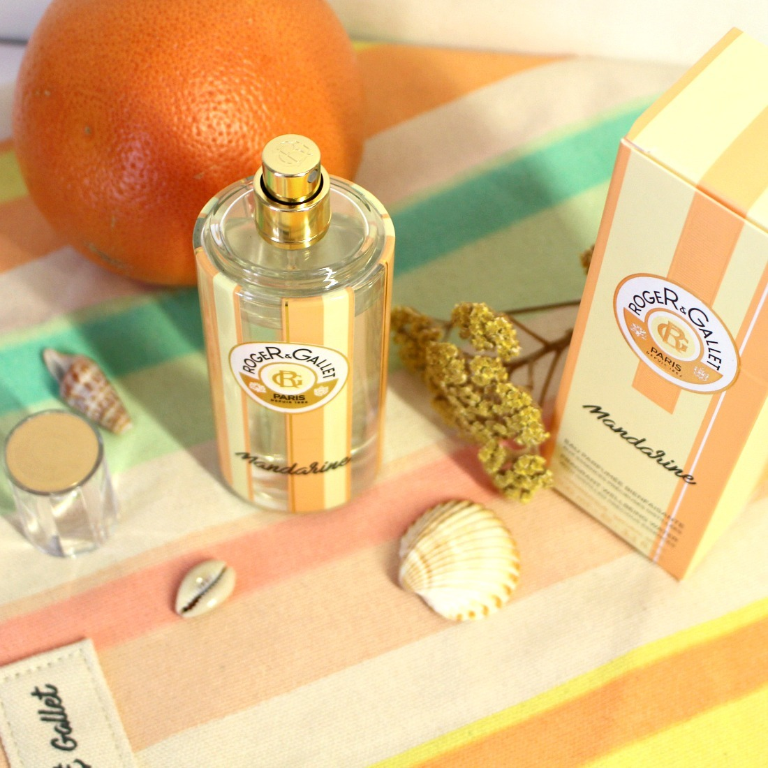 Eau Parfumée Bienfaisante Mandarine