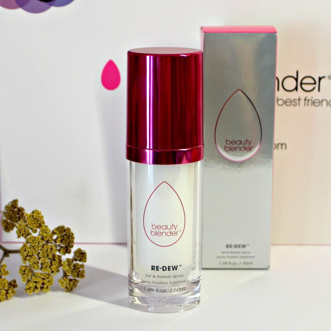 spray fixateur beauty blender