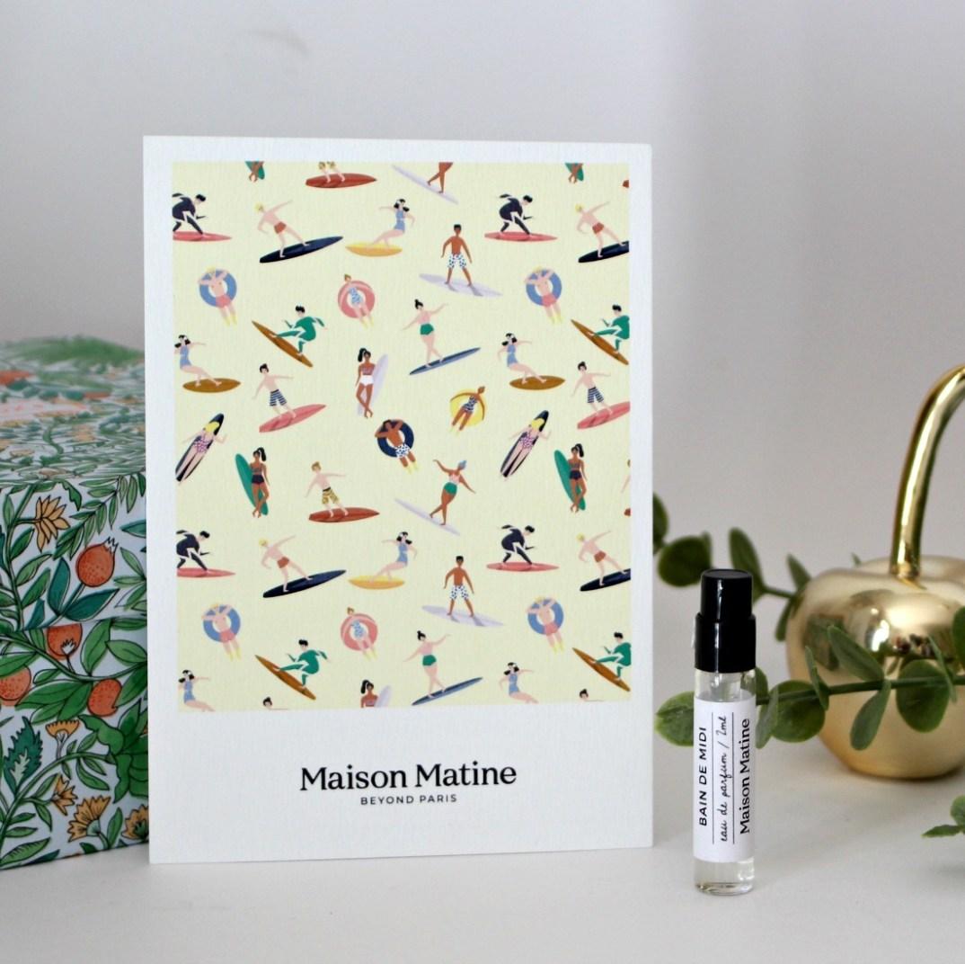 parfum maison matine