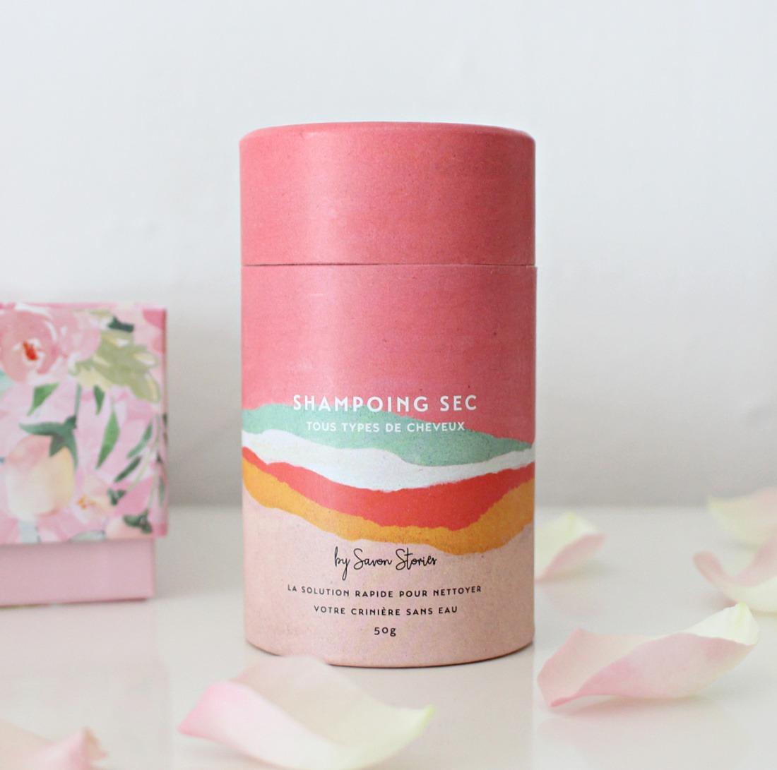 shampooing sec bio savon stories