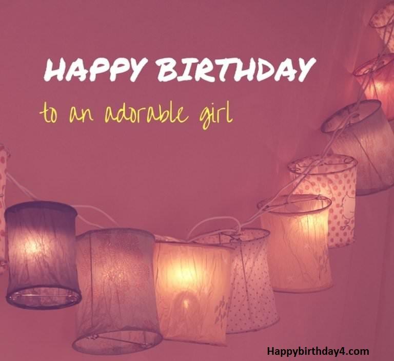 Happy Birthday Wishes for Girlfriend