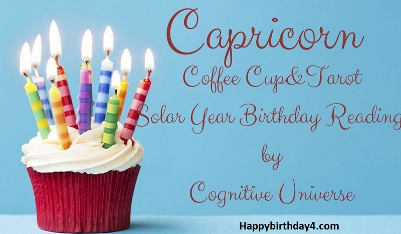 Birthday Wishes For a Capricorn