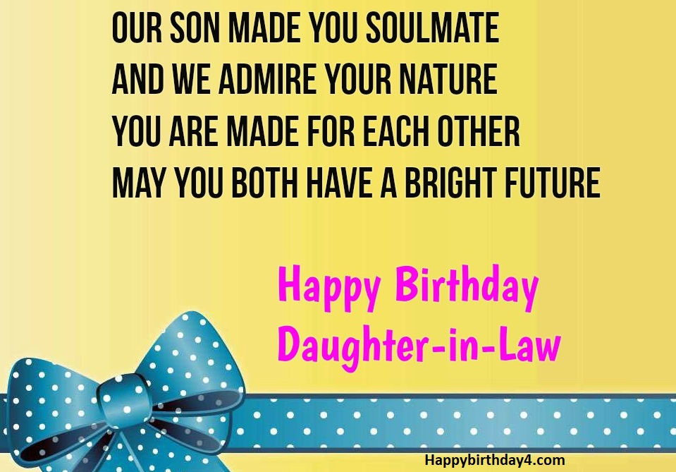 Future Daughter In Law Quotes | 200 Happy Birthday Daughter In Law Happy Birthday