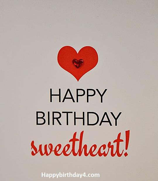 SHORT HAPPY BIRTHDAY SWEETHEART WISHES