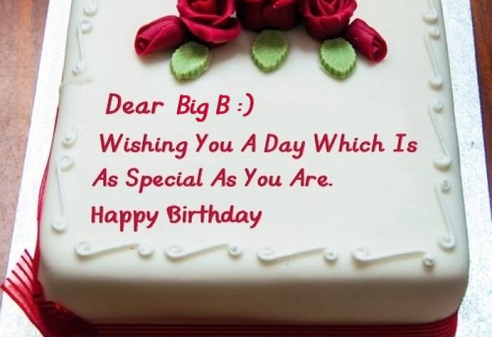 Best Birthday Cake For Lover For Big B