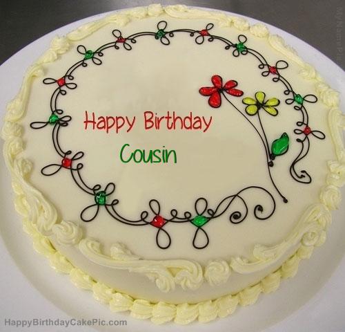 Bpy Cousin Happy Birthday Cake
