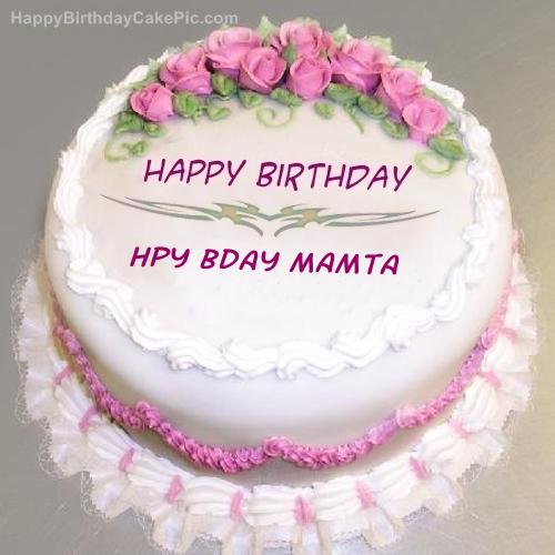 Happy Bday Cake Name
