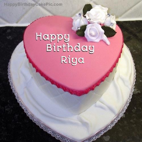 ️ Birthday Cake For Riya