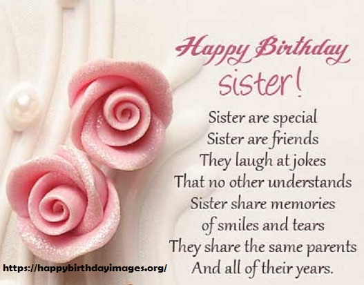 Happy Birthday Messages For Sister