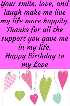 Happy Birthday Wishes Sms For Boyfriend