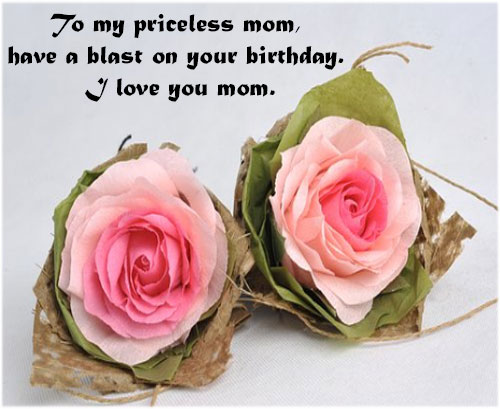 Happy birthday quotesfor mom with images