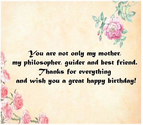 Happy birthday mother wishes with images hd download