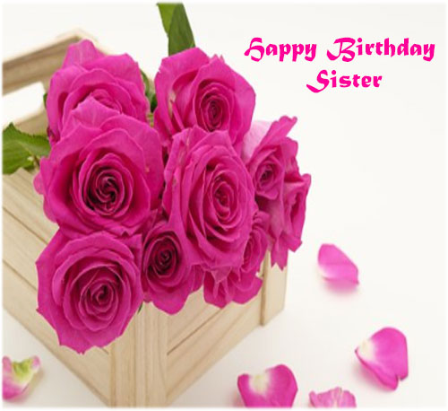 Happy Birthday Sister pics images photo hd download