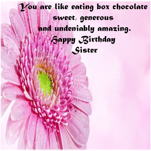 Happy Birthday Sister images with wishes hd download facebook