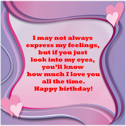 birthday wishes images for boyfriend lover