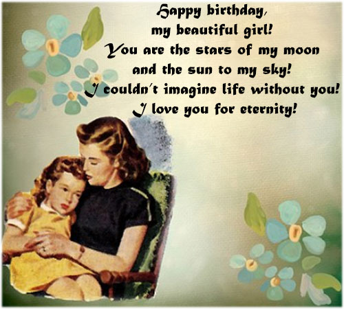 Birthday wishes imagesfor Daughter girl