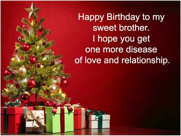 Funny Birthday Wishes For Younger Brother