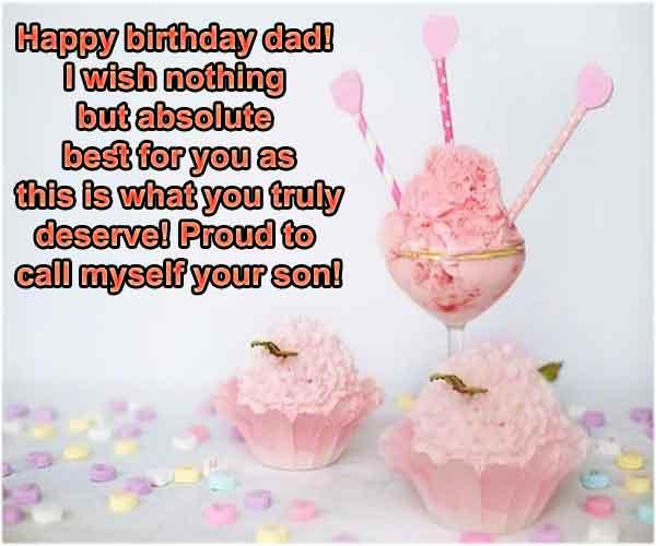 Happy Birthday Papa Status