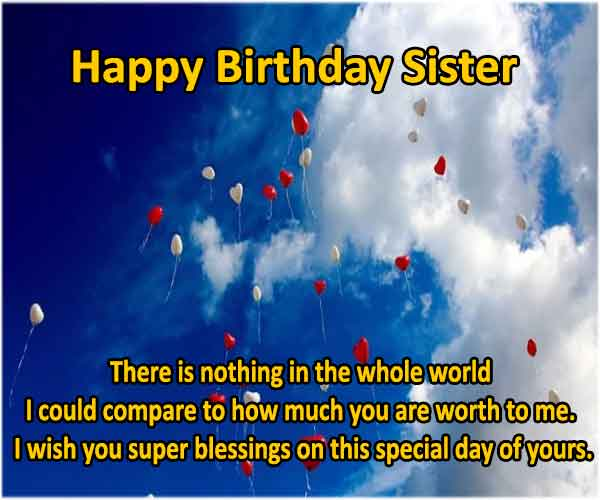 Happy Birthday Wishes For Little Sister