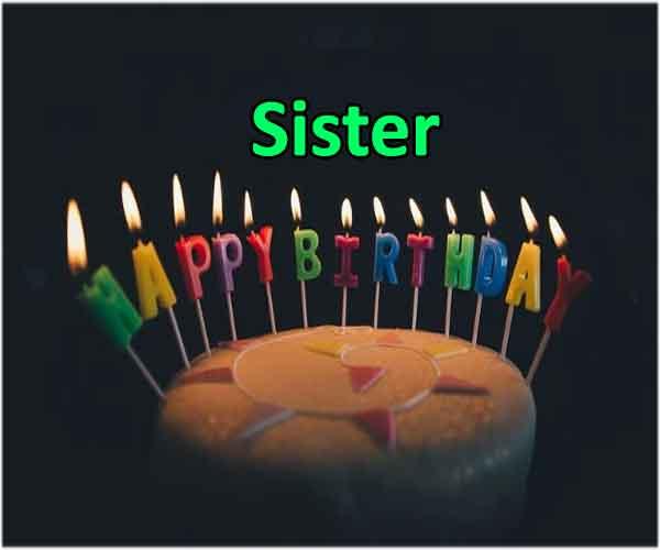 Sister Bday Msg